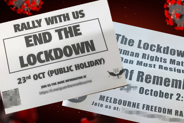 Article image for Growing unrest: Anti-lockdown protest planned and retailers urged to open