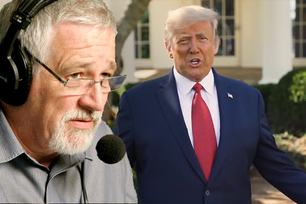 Article image for Neil Mitchell reacts to Trump's video touting therapeutic drug cocktail