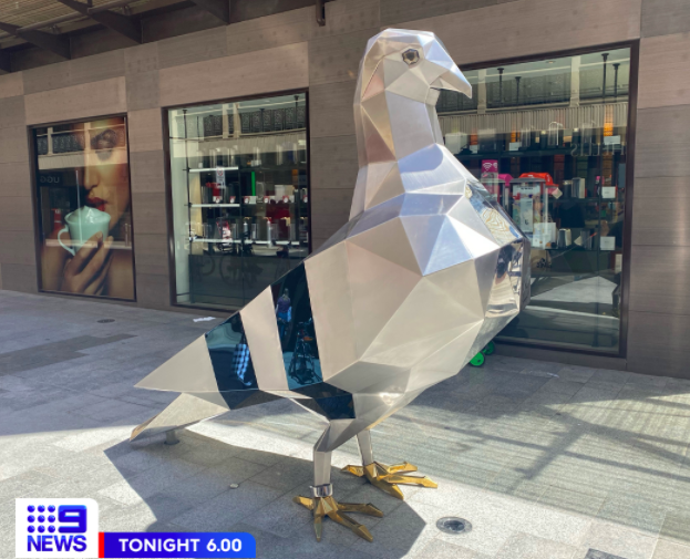 Article image for The unusual piece of art in Adelaide's CBD catches Tom's attention
