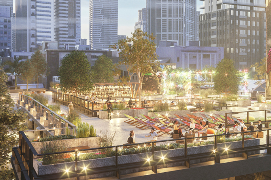 Article image for The plan to turn Melbourne's car parks into public spaces