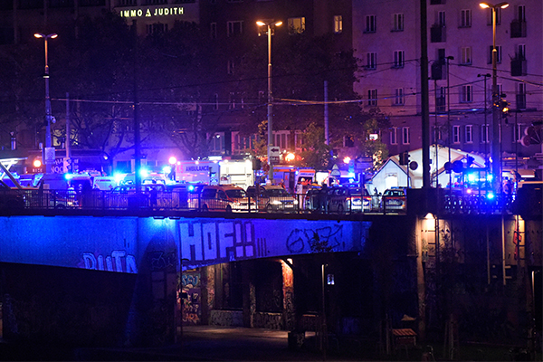 Article image for Vienna terror attack: Two dead after multiple gunmen open fire