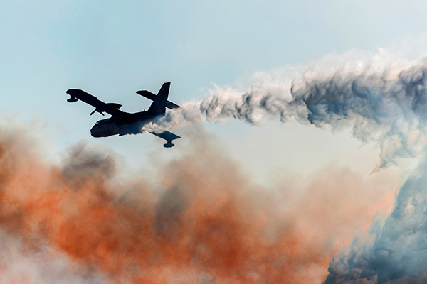 Article image for National flying firefighting fleet getting off the ground