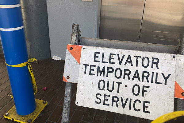 Article image for Firefighters trapped in lift after call out to alarm in CBD