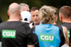Collingwood CEO's message to fans after 'tough' few days