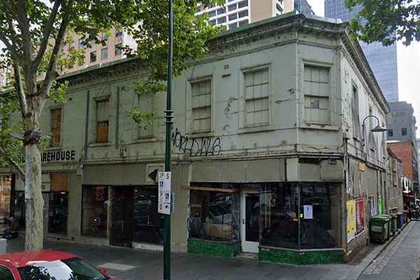 Article image for Plan to transform 'atrocious' Bourke Street eyesore into a food and arts hub