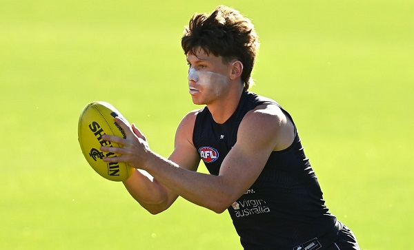 Article image for 'That's a transition I want to take': Carlton young gun eyeing more midfield time