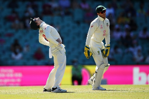 Article image for 'That's just pressure': Alan Border defends Paine from criticism