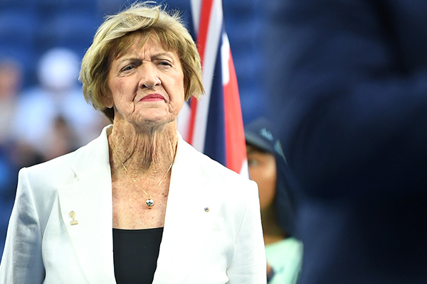 Article image for Margaret Court bristles when asked to explain controversial views