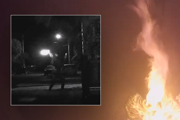 Article image for Police hunt for firebug after spate of 10 suspicious blazes in Torquay