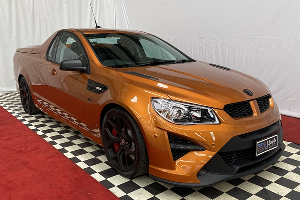 Article image for This Holden ute could fetch more than $1 million at auction