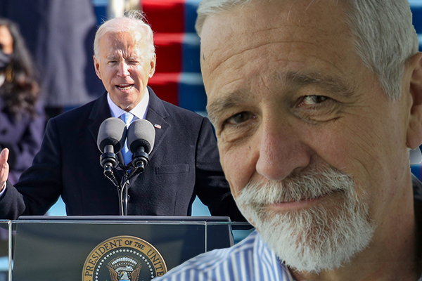 Article image for What stood out to Neil Mitchell about Joe Biden's inauguration speech