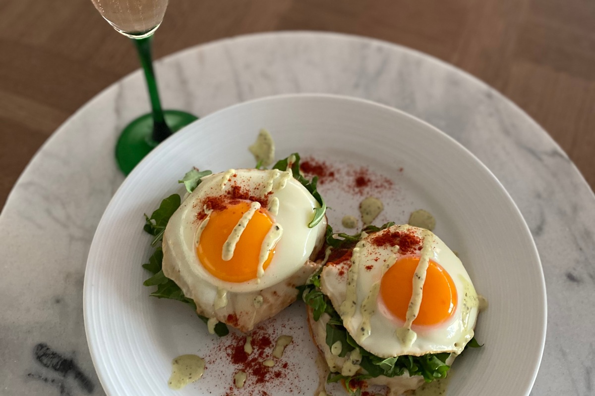 Article image for Geoff Maddern's recipe for the perfect brekky stack