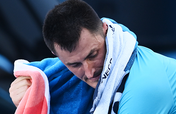 Article image for Australian tennis great responds to 'worst commentator ever' clip from Bernard Tomic