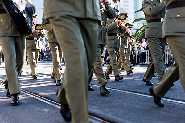 Article image for How veterans can register to join this year's Melbourne Anzac Day parade
