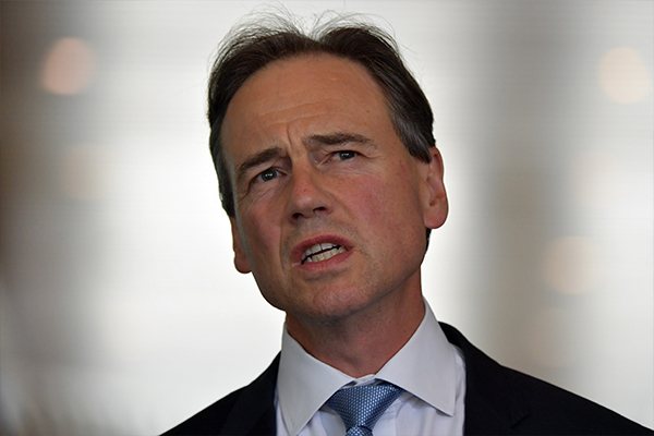 Article image for Health Minister Greg Hunt's message to those who don't want the COVID-19 jab