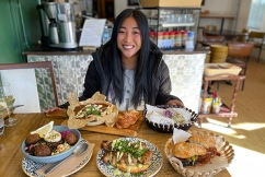 Mikkayla reviews: The Left Handed Chef — 'the greatest hummus ever'