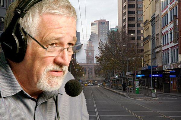 Article image for 'In deep trouble': Neil Mitchell says Melbourne has become a 'sad, sad city'