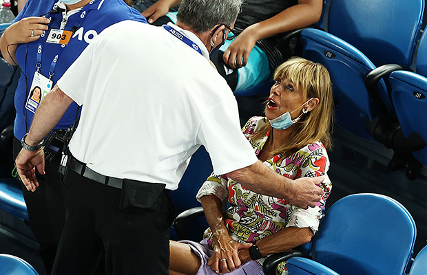 Article image for Rowdy tennis 'aficionado' explains why she yelled out at Rafael Nadal
