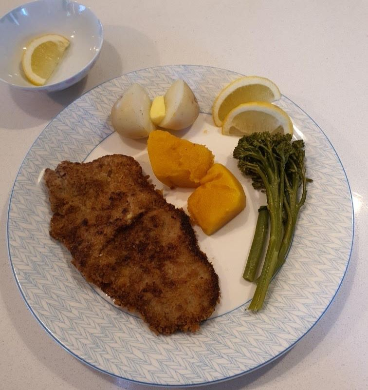 Article image for Dining with Den – Neil Perry's veal cotoletta