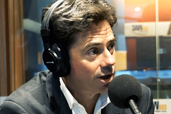 Article image for Gillon McLachlan responds to dig from NRL boss