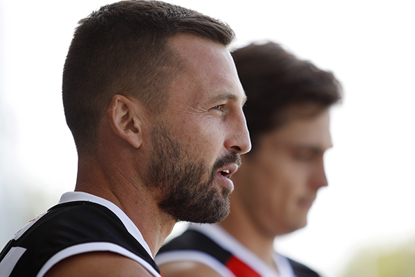Article image for What Jarryn Geary wants to see from St Kilda tonight