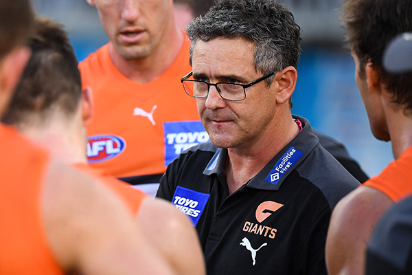 Article image for GWS coach Leon Cameron admits Amazon documentary made him uncomfortable