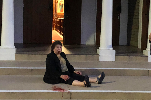 Article image for Woman viciously bashed in senseless attack on South Yarra church steps