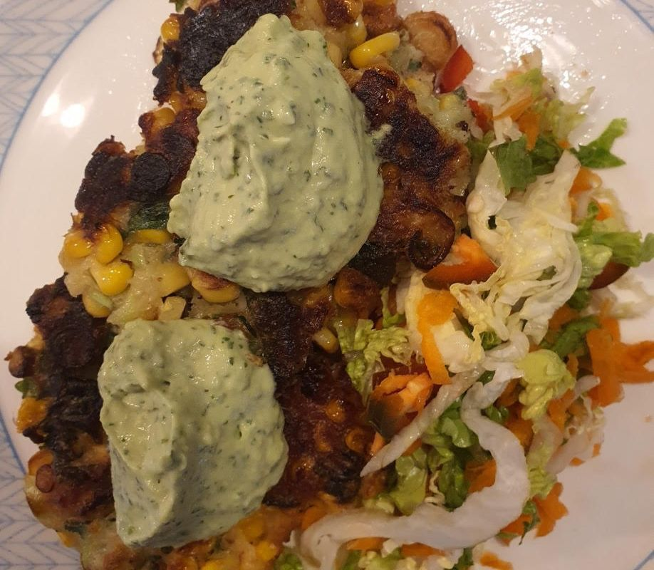 Article image for Dining with Den – Extra Crispy Corn Fritters