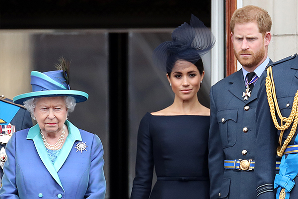 Article image for Queen breaks silence on Harry and Meghan's bombshell interview