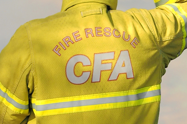 Article image for Hero CFA volunteers save captain's life while simultaneously putting out a fire