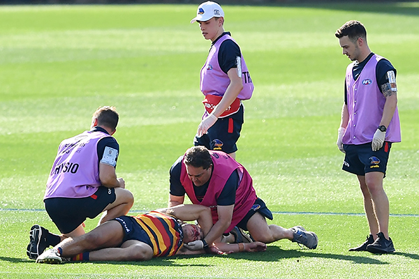 Article image for Adelaide veteran says Dangerfield-Kelly clash 'just a part of footy'