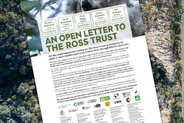 Article image for Environmental war looms on the Mornington Peninsula as fifty big names sign open letter
