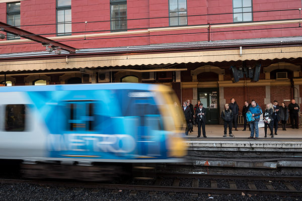 Article image for Commuter chaos: 'Police incident' shuts Flinders Street Station