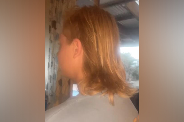 Article image for Teenage boy's campaign against mullet ban at Lilydale school