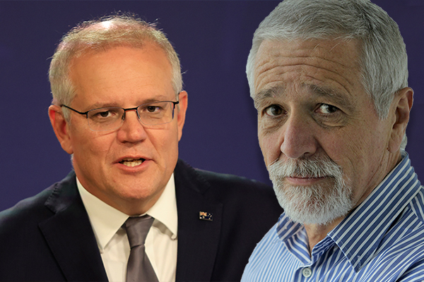 Article image for Neil Mitchell takes aim at Scott Morrison over 'tin ear' comments on women's protests
