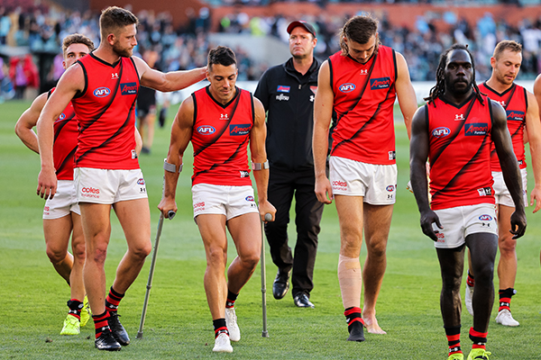 Article image for Essendon midfielder Dylan Shiel has surgery on knee