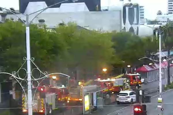 Article image for St Kilda apartments evacuated after suspicious fire erupts in a shop