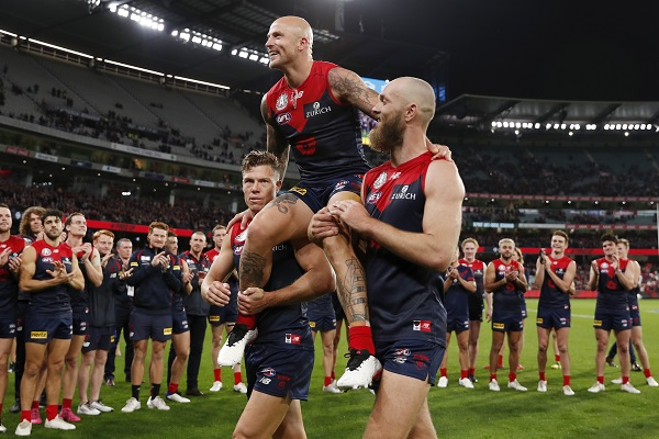 Article image for Max Gawn explains how the Demons beat the reigning premiers