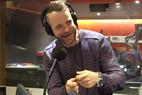 Article image for Hamish Blake reveals his 'one condition' of moving to Sydney and 'biggest threat' in the Lego Masters studio