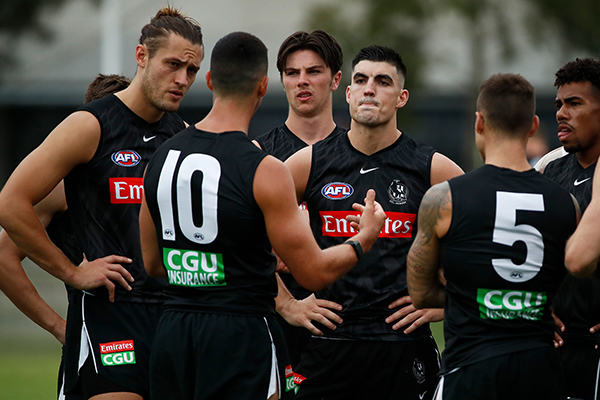 Article image for The proposed Collingwood change that makes 'no sense' to Gerard Healy