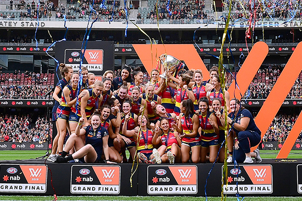 Article image for AFLW grand final date and time locked in