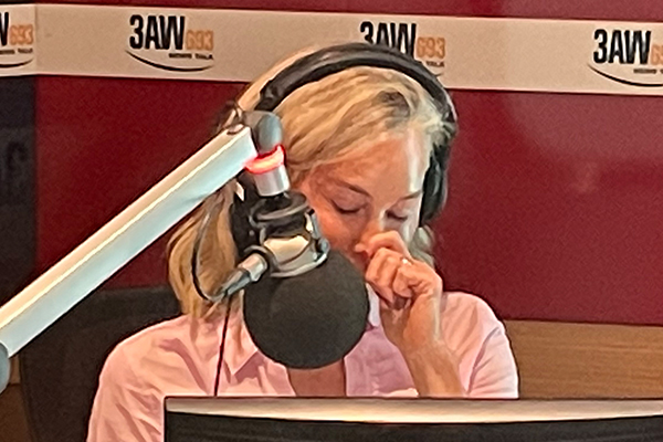 Article image for Why Elise Elliott cried on air while interviewing Samuel Johnson