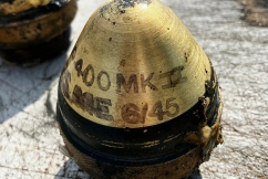 Fishing trawler nets more than 50 World War Two explosive devices