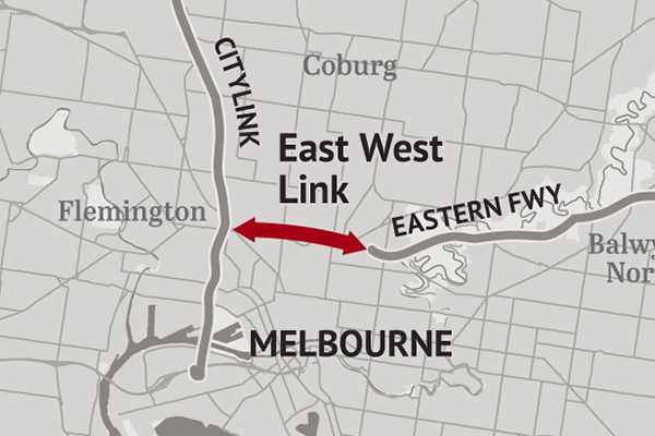 Article image for East West Link debate reignited on anniversary of contract being torn up
