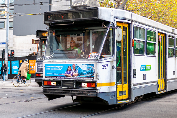 Article image for Wheel shortage forces Melbourne trams off the roads