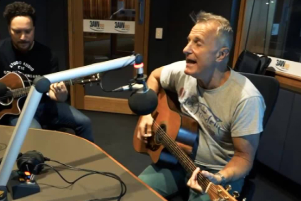 Article image for James Reyne drops by for a chat with Dee Dee!