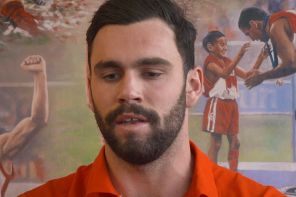 Article image for Paddy McCartin issues public apology over ugly VFL incident
