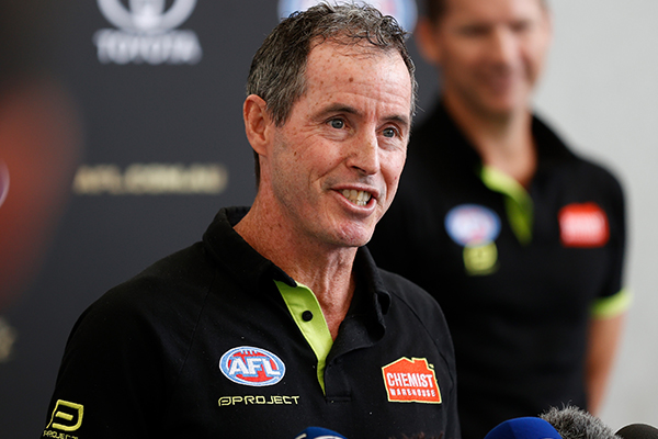 Article image for Why the AFL umpires coach has suddenly quit the role