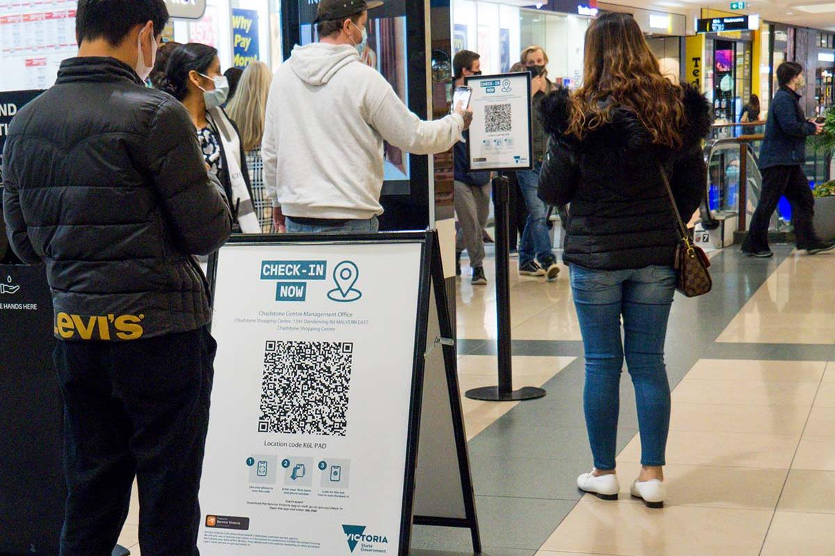 Article image for Police attempted to access QR check-in data three times in December