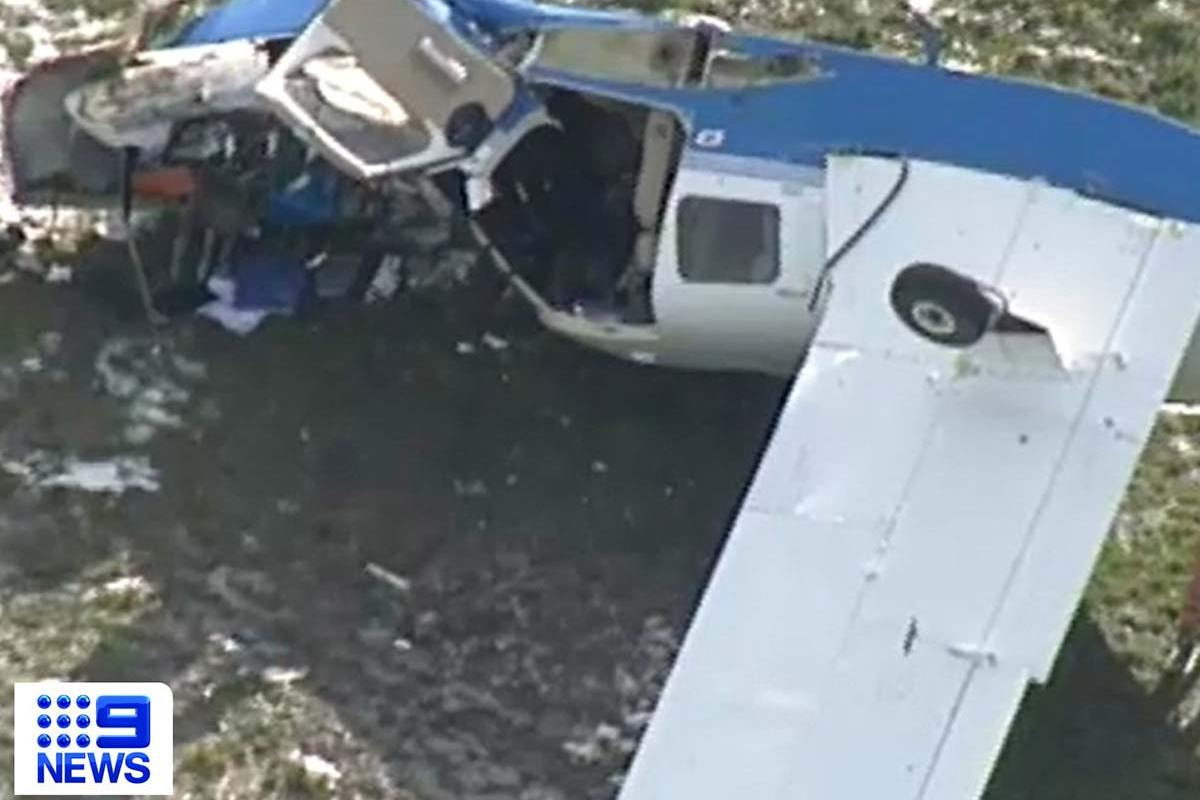 Article image for Pilot injured in plane crash in Melbourne's south-east